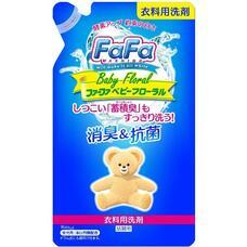 Жидкое мыло для стирки детского белья NISSAN Soap FaFa с цветочным ароматом мягкая упаковка 800 мл