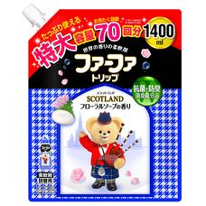 Кондиционер для детского белья NISSAN Soap FaFa Шотландия концентрированный запасной блок 1,4 л