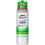 Мужской увлажняющий лосьон после бритья с лечебным и противовоспалительным действием KAO Men's Biore, бутылка 180 мл
