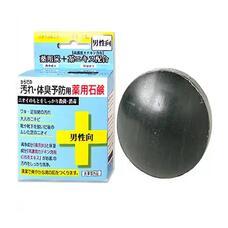 Твердое мыло комплексного действия для мужчин Clover Medicated Комплекс+ 80 г
