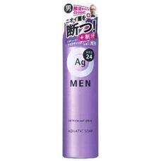Дезодорант спрей-порошок с запахом свежего мыла для мужчин SHISEIDO Ag DEO24 100г