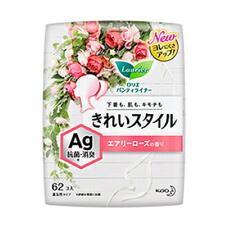 Ежедневные гигиенические прокладки с содержанием серебра для удаления запаха аромат розы KAO Laurier Beautiful Style 14 см