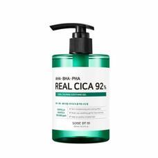 SOME BY MI AHA-BHA-PHA Real Cica 92% Cool Calming Soothing Gel Охлаждающий успокаивающий гель с кислотами для проблемной кожи 300 мл