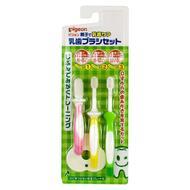 Зубные щетки PIGEON набор 3 уровня 3 шт