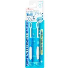 Зубные щетки PIGEON набор 18+ мес 2шт голубые