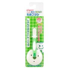 Зубная щетка с фиксатором PIGEON с 6 мес зеленая