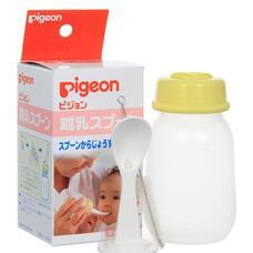 Набор PIGEON бутылочка 120 мл с ложкой с 3 мес
