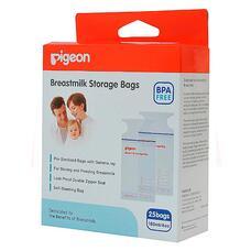 Пакеты PIGEON для заморозки грудного молока 180 мл 25 шт