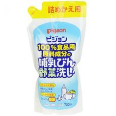 Средство д/мытья бутылочек и овощей PIGEON 700 мл сменный блок