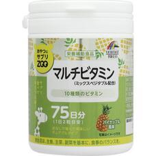 Unimat ZOO Жевательные мультивитамины со вкусом ананаса № 150