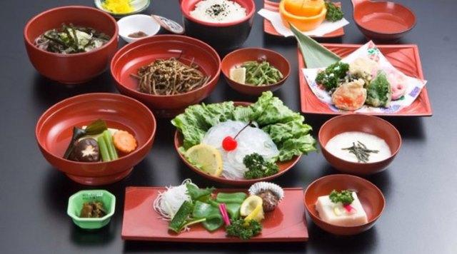 Маленькие порции японцев