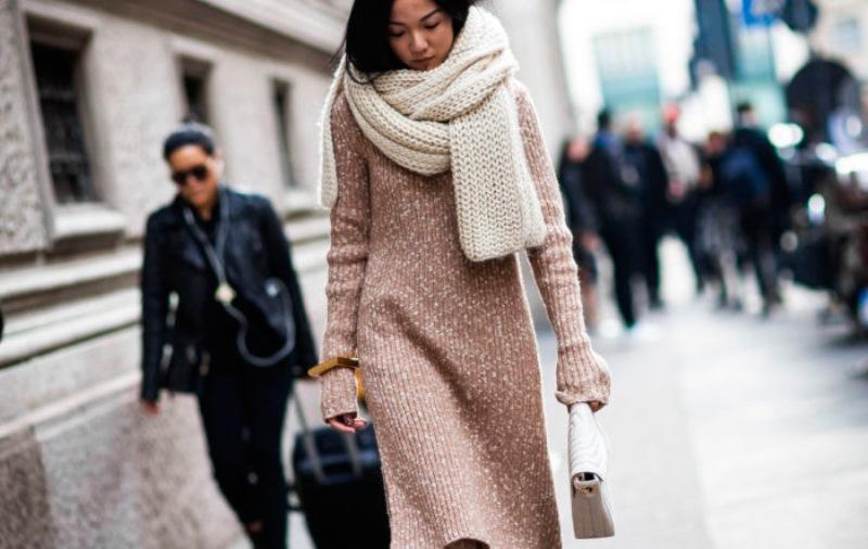 Теплая одежда осенью