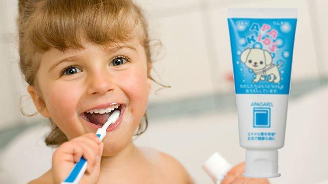 Детская корейская зубная паста