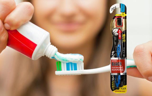 Японские и корейские зубные щетки